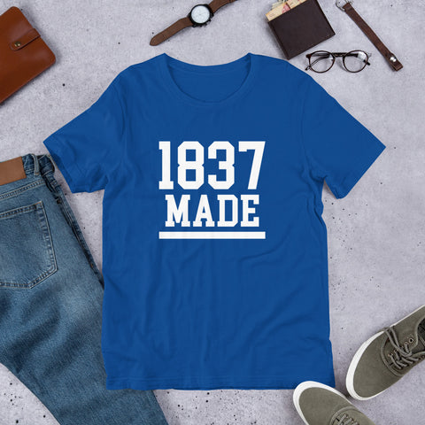 Cheyney University 1837 Made Short-Sleeve Unisex T-Shirt - We Wear Our HBCUs