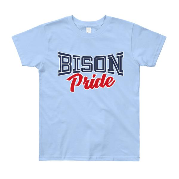 Howard University Bison Pride Unisex Youth College Short Sleeve T-Shirt (8-12 years old) - We Wear Our HBCUs