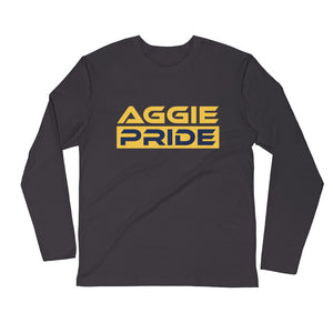 North Carolina A&T | Aggie Pride | Unisex Long Sleeve Fitted Crew - We Wear Our HBCUs