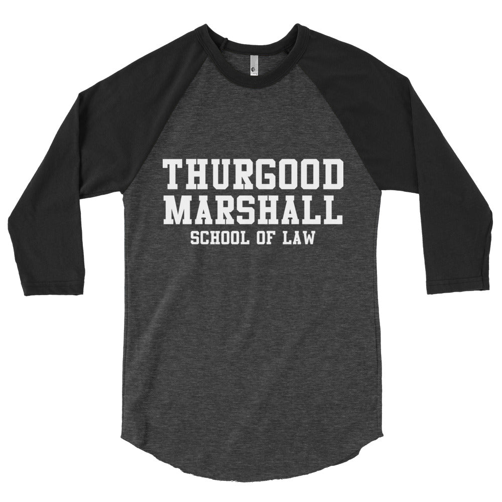 Thurgood Marshall School of Law  sleeve raglan shirt - We Wear Our HBCUs