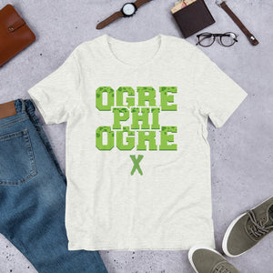 Hampton University Ogre Phi Ogre X Short-Sleeve Unisex T-Shirt XS - 4XL - We Wear Our HBCUs
