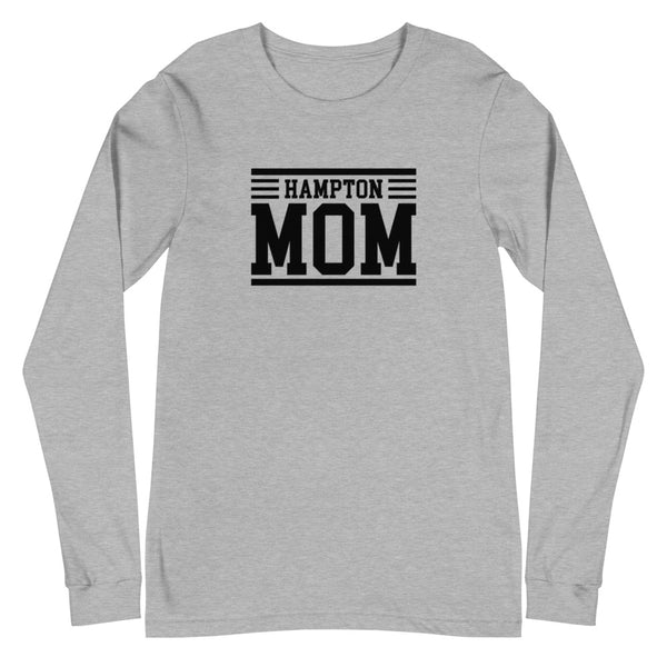 Hampton Mom Unisex Long Sleeve Tee - We Wear Our HBCUs