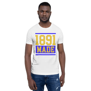 North Carolina A&T 1891 Made Short-Sleeve Unisex T-Shirt - We Wear Our HBCUs