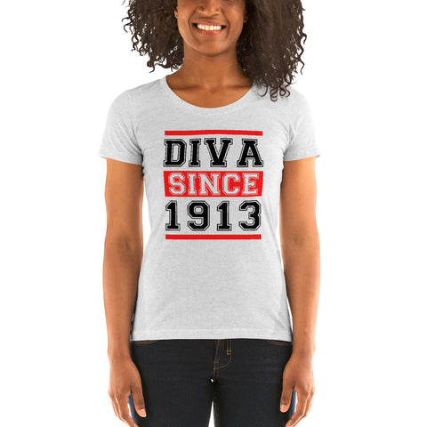 Diva Since 1913 Ladies' Soft Form Fitting T-shirt