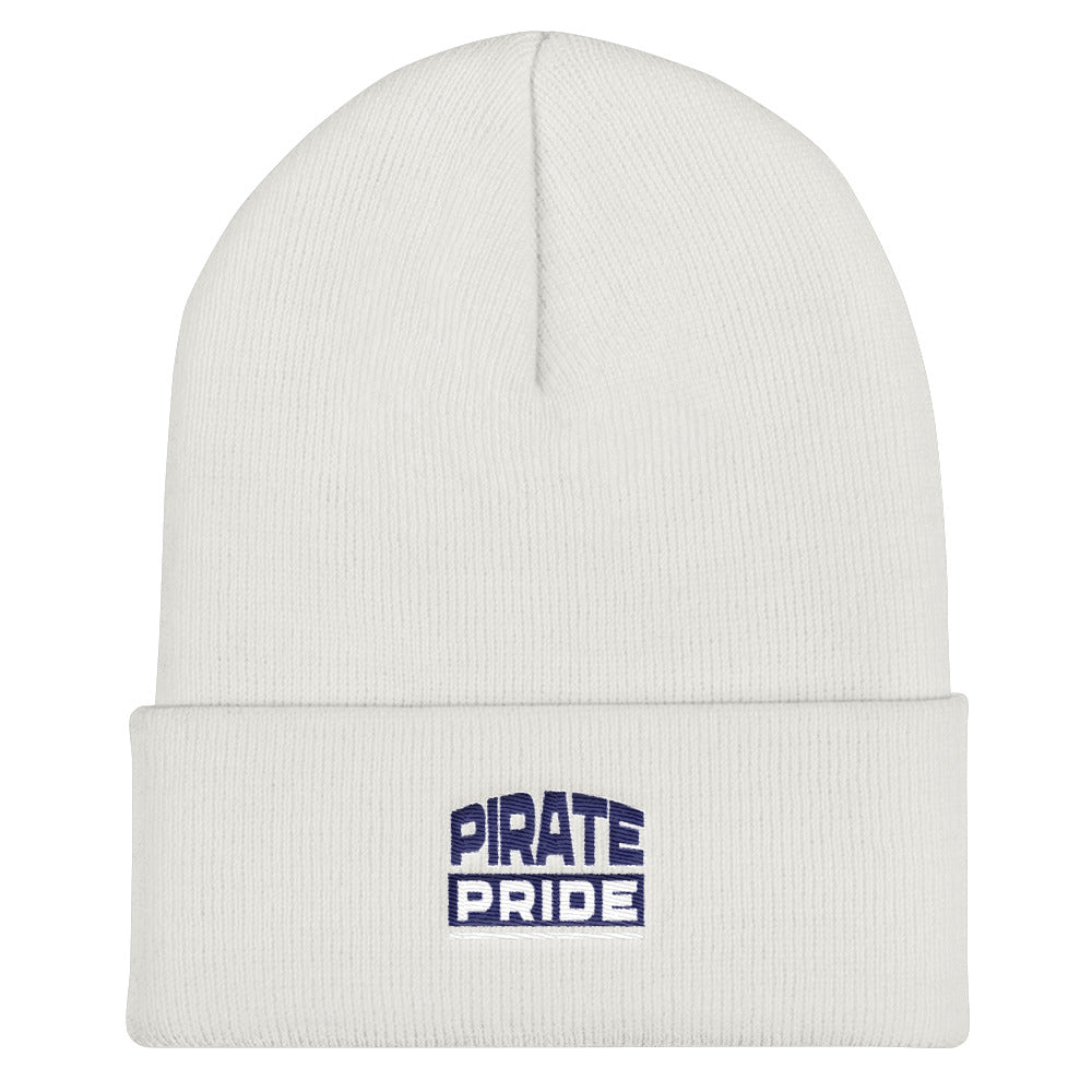 Pirate Pride | Hampton University | Form-Fitting Cuffed Beanie - We Wear Our HBCUs