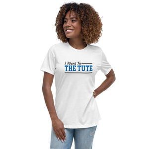 Hampton Institute I Went To The Tute Women's Relaxed T-Shirt - We Wear Our HBCUs