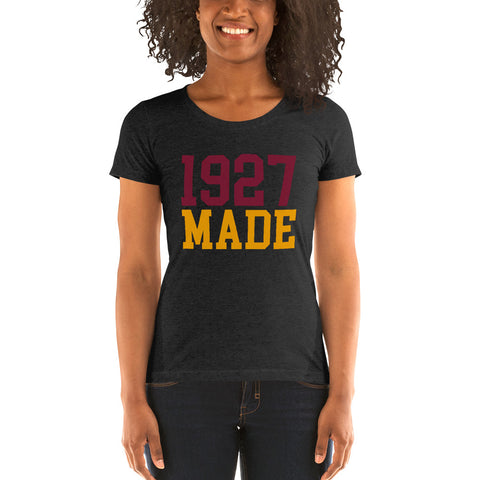 1927 Made Texas Southern Ladies' Soft Form Fitting T-shirt - We Wear Our HBCUs