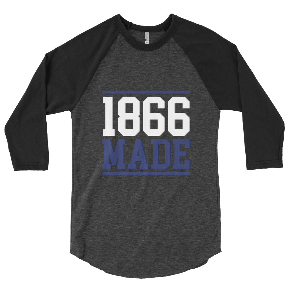 Lincoln University (MO) 1866 Made Unisex Baseball Shirt - We Wear Our HBCUs