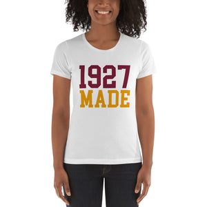 1927 Made Texas Southern Women's Boyfriend Tee - We Wear Our HBCUs
