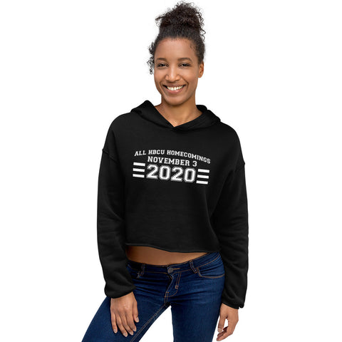 All HBCU Homecomings Cropped Hoodie