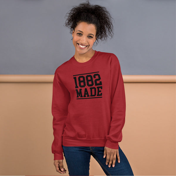 Virginia State 1882 Made Women's Sweatshirt - We Wear Our HBCUs