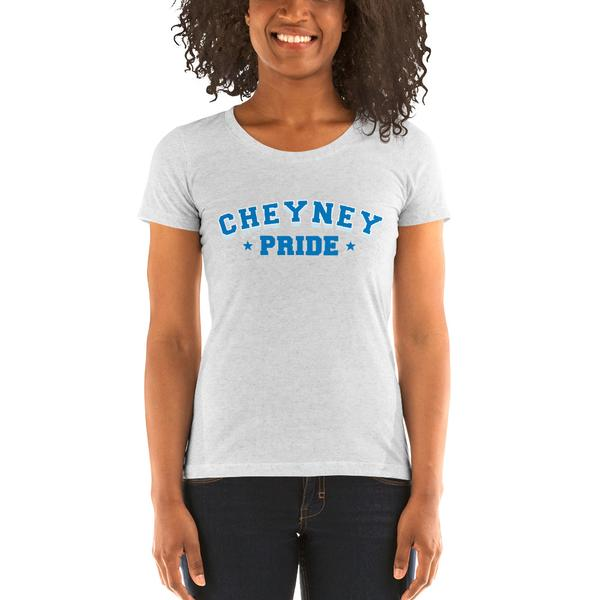 Pride Cheyney University Crew Neck Super-Soft Short Sleeve College T-Shirt - We Wear Our HBCUs