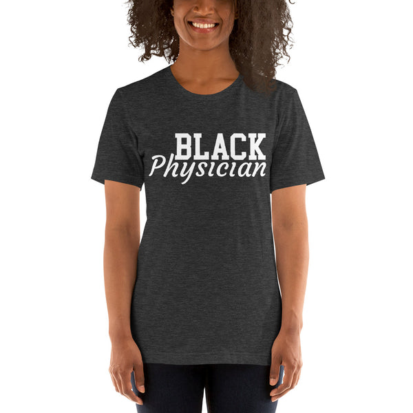 Black Physician Unisex Premium T-Shirt - We Wear Our HBCUs