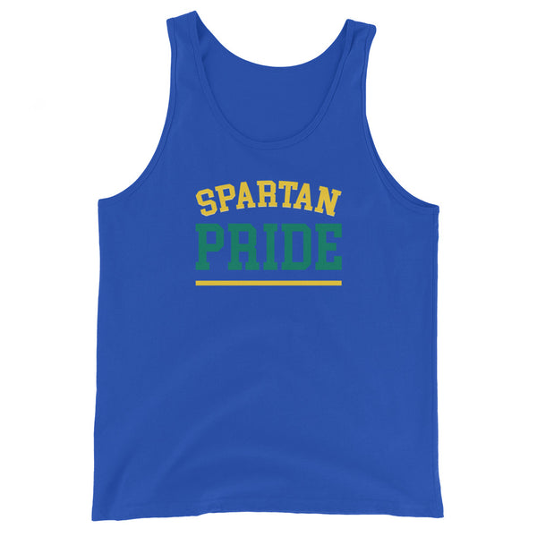 Norfolk State Spartan Pride Men's Tank Top - We Wear Our HBCUs