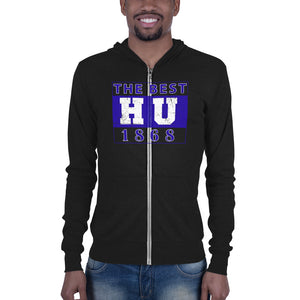 Hampton University The Best HU 1868 Made Unisex Zip Hoodie - We Wear Our HBCUs