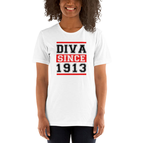 Diva Since 1913 Basic T-Shirt up to 4XL