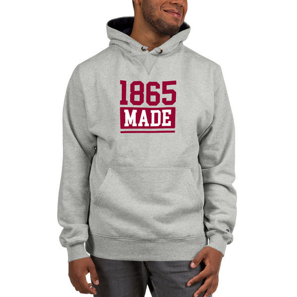 Virginia Union University 1865 Made Champion Hoodie - We Wear Our HBCUs