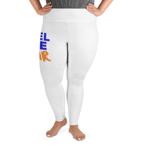 Lincoln University Feel The Roar Plus Size Leggings - We Wear Our HBCUs