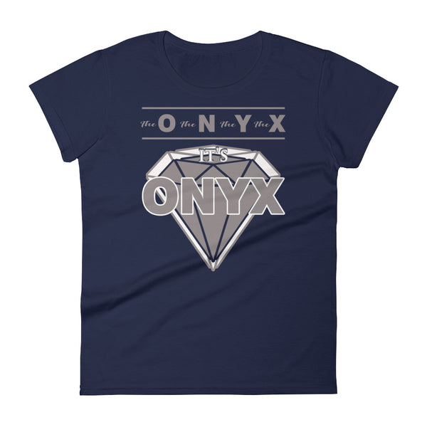 Hampton University | ONYX | Women's Short Sleeve T-Shirt | The O The N The Y The X - We Wear Our HBCUs