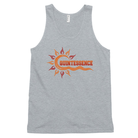 Quintessence  Hampton University Class Name Unisex American Apparel Classic Tank Top - We Wear Our HBCUs