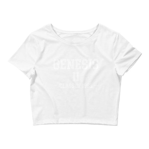 Genesis II Class of 1989 Women's Crop Tee - We Wear Our HBCUs