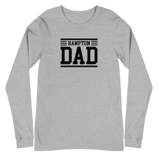 Hampton Dad Unisex Long Sleeve Tee - We Wear Our HBCUs