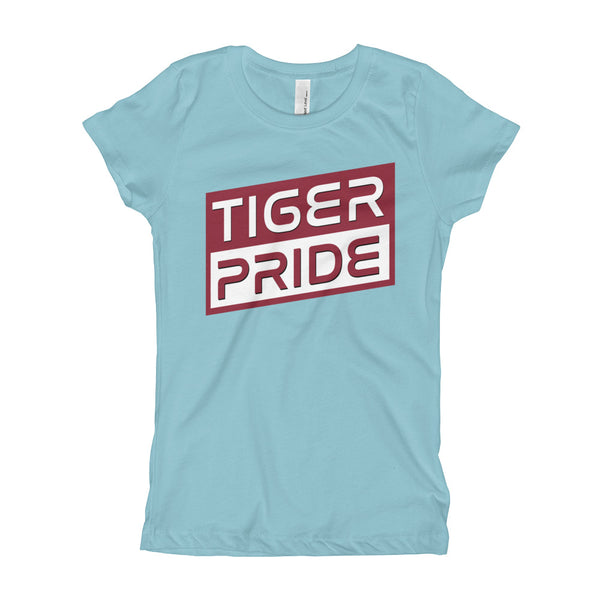 Texas Southern University Tiger Pride Girl's Long Body T-Shirt - We Wear Our HBCUs