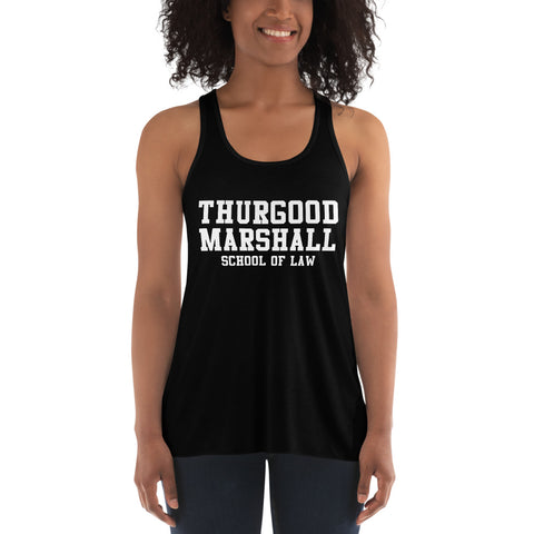 Thurgood Marshall School of Law Women's Flowy Racerback Tank - We Wear Our HBCUs