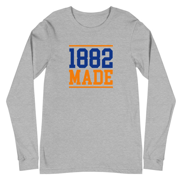 Virginia State 1882 Made Unisex Long Sleeve Tee - We Wear Our HBCUs