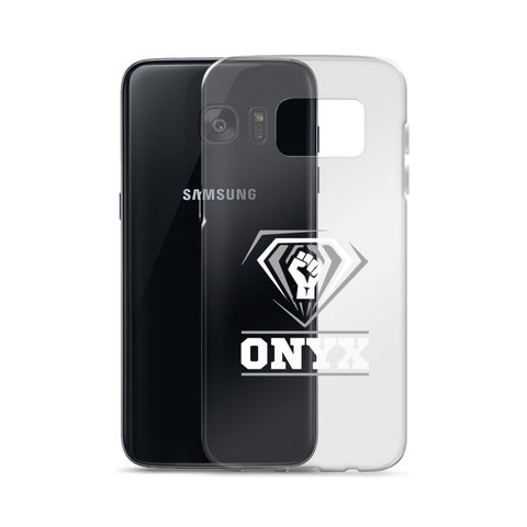 ONYX Fist | Hampton University | HU Class Name Samsung Cell Phone Case - We Wear Our HBCUs