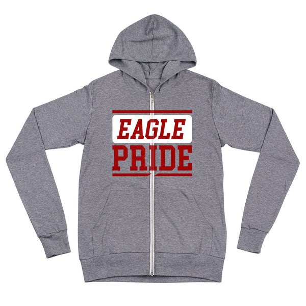 North Carolina Central Eagle Pride Unisex zip hoodie - We Wear Our HBCUs