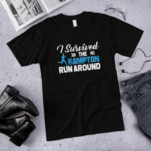I Survived The Hampton Run Around Hampton University Unisex T-Shirt - We Wear Our HBCUs