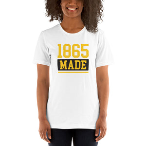 Bowie State University 1865 Made Short-Sleeve Unisex T-Shirt - We Wear Our HBCUs