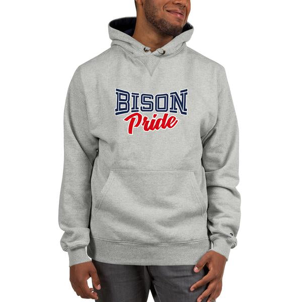 Howard University Bison Pride Champion Hoodie With Front Pouch Pocket - We Wear Our HBCUs