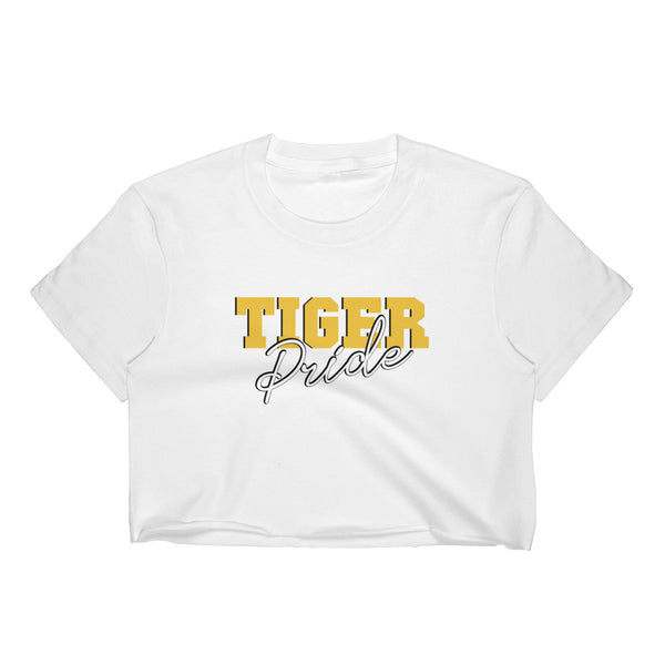 Tiger Pride Grambling State University Women's Crop Top - We Wear Our HBCUs