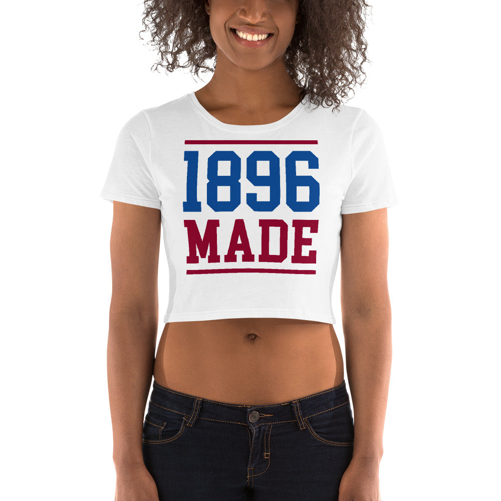 South Carolina State University 1896 Made Women's Crop Tee - We Wear Our HBCUs