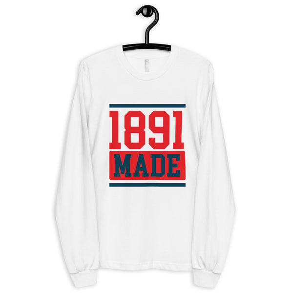1891 Made Delaware State Long sleeve t-shirt - We Wear Our HBCUs