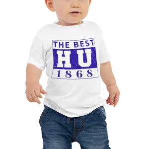 The Best HU 1868 Made  Hampton University  HU Baby Jersey Short Sleeve Tee (6 - 24 months) - We Wear Our HBCUs