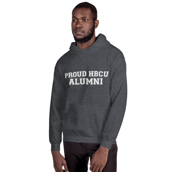 PROUD HBCU ALUMNI Unisex Hoodie - We Wear Our HBCUs