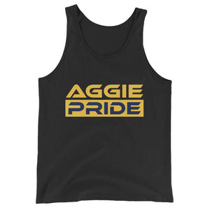 North Carolina A&T Aggie Pride HBCU GHOE Unisex  Tank Top - We Wear Our HBCUs