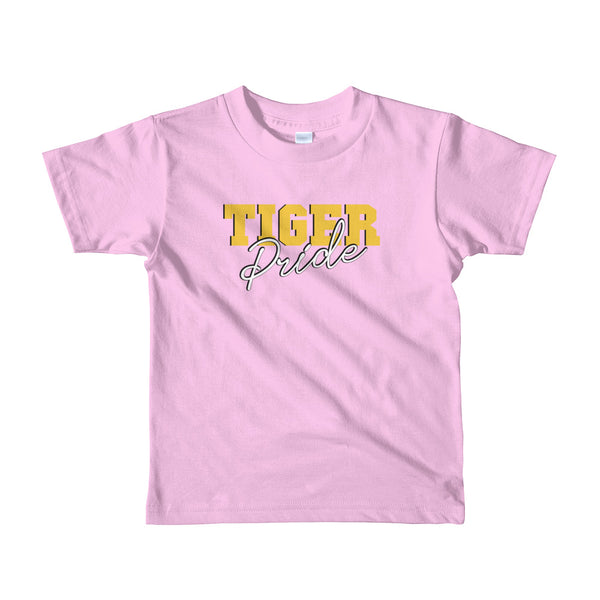 Tiger Pride Grambling State University HBCU Short Sleeve Kids T-shirt (2-6 years old) - We Wear Our HBCUs