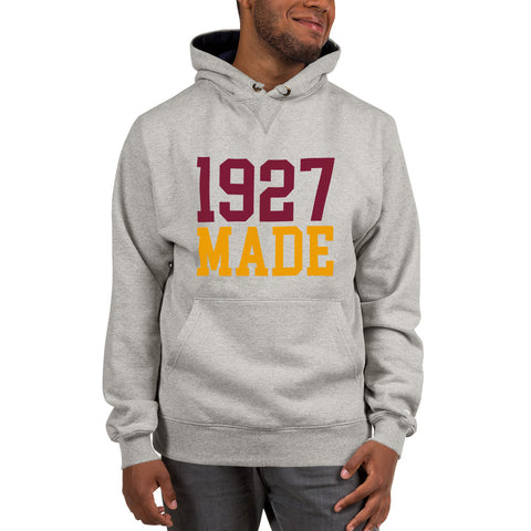 1927 Made Texas Southern Unisex Champion Hoodie - We Wear Our HBCUs
