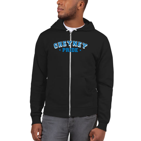 Cheyney University Cheyney Pride  Unisex Sporty Zip Up Hoodie With A Soft Inside - We Wear Our HBCUs