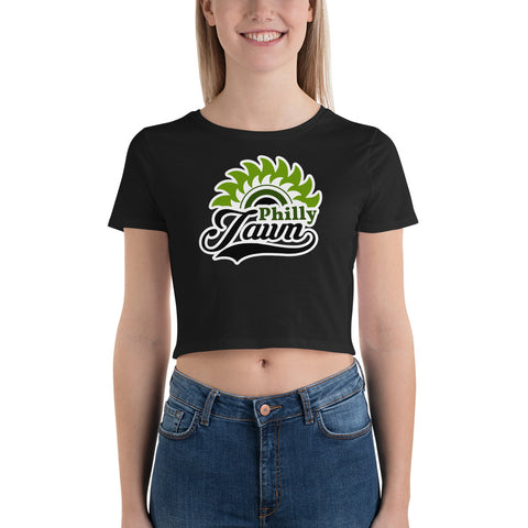 Philly Jawn Tight-Fitting Women's Crop Tee - We Wear Our HBCUs