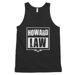 Howard Law  Law School T-Shirt Distressed Unisex Classic Tank Top - We Wear Our HBCUs