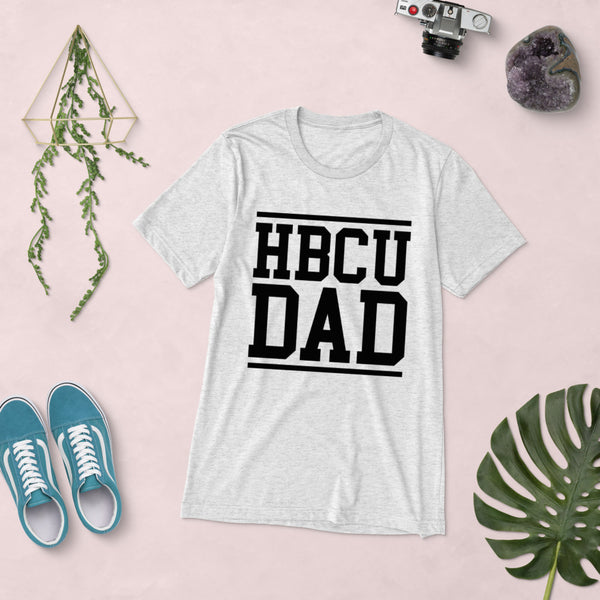 HBCU DAD Unisex Soft T-Shirt up to 4X - We Wear Our HBCUs