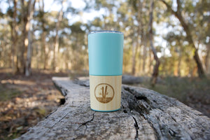 INSULATED STAINLESS STEEL TRAVEL CUP