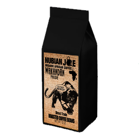 12 oz Nubian Joe Roasted Organic Coffee Beans