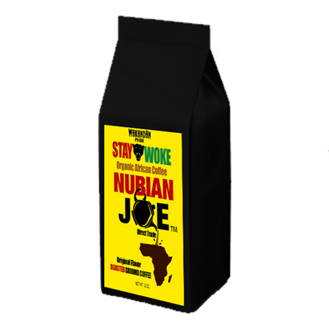 12 oz Nubian Joe Roasted Organic Ground Coffee