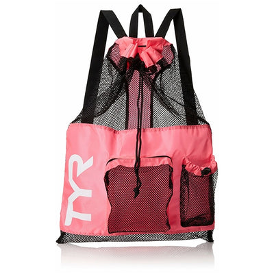 BIG MESH MUMMY BACKPACK TYR - PINK